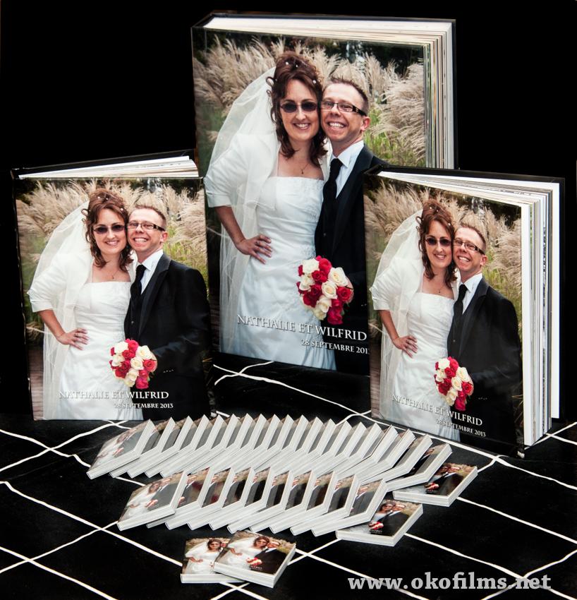 Livre du mariage. Couverture rigide • Studio Oko Films & Photos