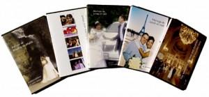 vidéo de mariage, jaquettes DVD