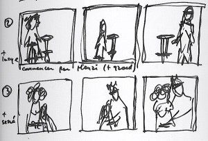 Portrait de famille : storyboard. © Studio Oko Films & Photos