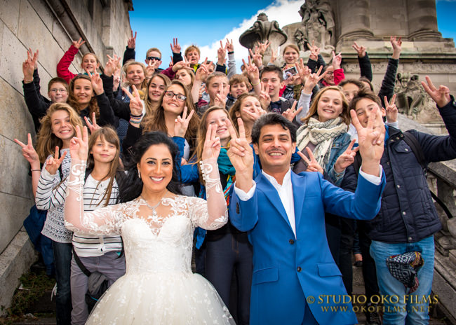 Reportage photo mariage Paris. © Studio Oko Films