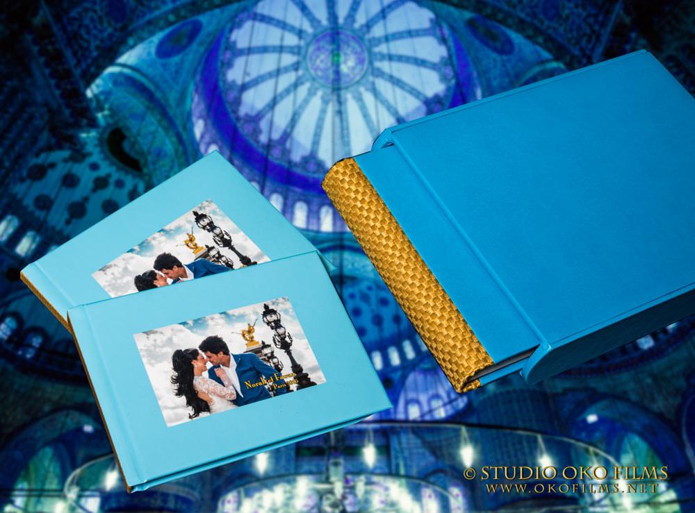 Album de mariés réalisé par Studio Oko Films & Photos
